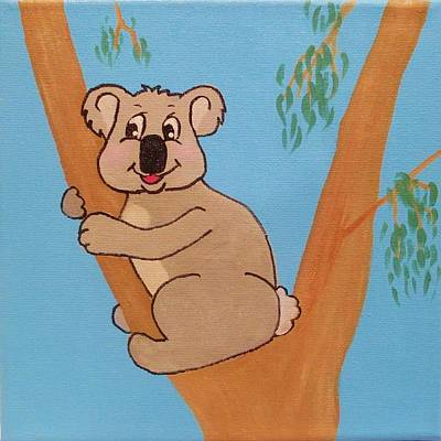 Painting - Koala by Anne Gardner