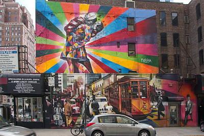 Kobra Mural New York City Art Print by Dan Stumpf