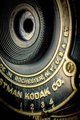 Photograph - Kodak Hawkeye by Rudy Umans
