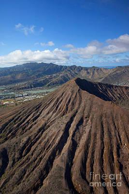 Koko Photograph - Koko Crater, Oahu, Hawaii by Douglas Peebles
