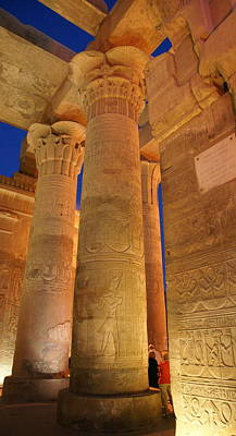 Photograph - Kom Ombo Temple by Christian Zesewitz