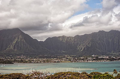 Photograph - Ko'olau And H-3 by Dan McManus