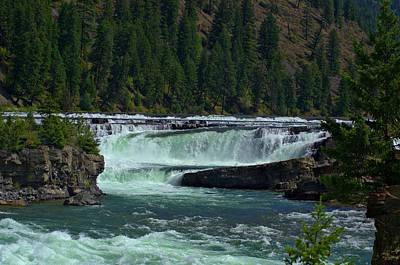 Impressionist Landscapes - Kootenai River Falls  by Tory Stephens