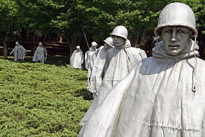 From The Kitchen - Korean War Veterans Memorial -- 2 by Cora Wandel