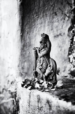Hinduism Photograph - Krishna  by Tim Gainey