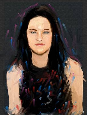 Kristen Stewart Art Print