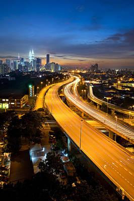 Photograph - Kuala Lumpur by Ng Hock How