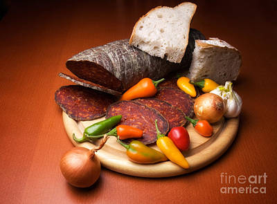 Winter Animals - Kulen and spices by Sinisa Botas