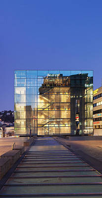 Contemporary Art Museum Photograph - Kunstmuseum Stuttgart Museum by Panoramic Images