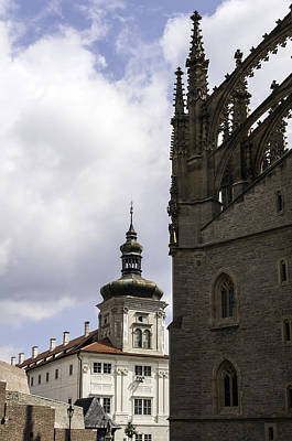 Medieval Temple Photograph - Kutna Hora. by Fernando Barozza