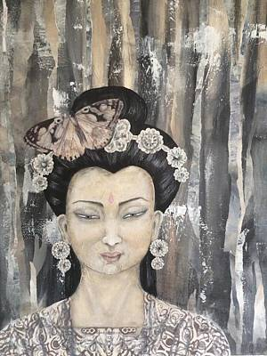 Painting - Kwan Yin by Suzan  Sommers