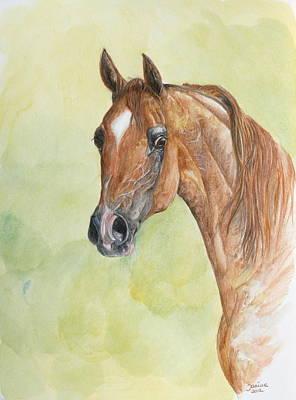 Painting - Kwestura by Janina  Suuronen