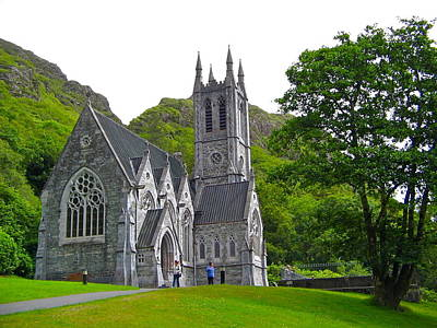 Photograph - Kylemore Abbey Gothic Church by Denise Mazzocco