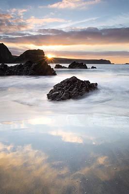 Kynance Cove Photograph - Kynance Cove Sunrise by Chris Frost