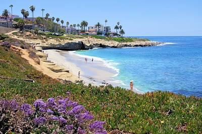 Photograph - La Jolla Beach by Jane Girardot
