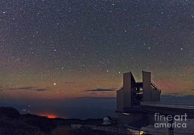 La Palma Observatory Art Print