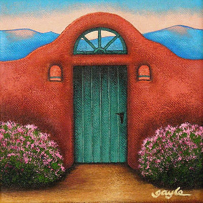 La Puerta Verde Art Print