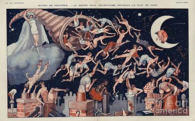 La Vie Parisienne 1927 1920s France Art Print by The Advertising Archives
