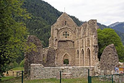 L'abbaye De Saint-jean-d'aulps Art Print