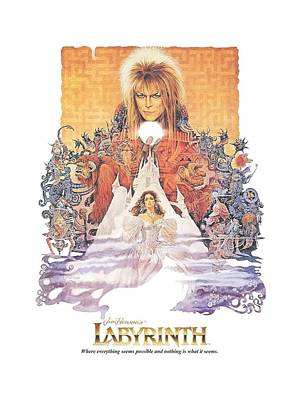 Goblin Digital Art - Labyrinth - Movie Poster by Brand A