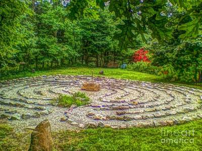 Photograph - Labyrinth Myth And Mystical  by Becky Lupe