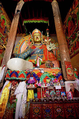 Ladakh, India The Interior Of The Hemis Art Print by Jaina Mishra