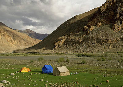 Riverbed Photograph - Ladakh, India The Landscapes by Jaina Mishra