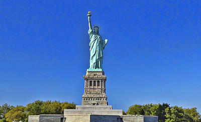 Photograph - Lady Liberty 3 by Allen Beatty