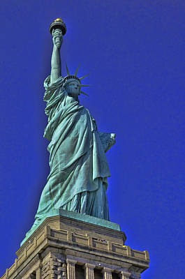 Photograph - Lady Liberty 7 by Allen Beatty