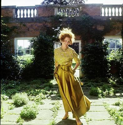 Photograph - Lady Renee Iliffe At Basildon Park by Henry Clarke