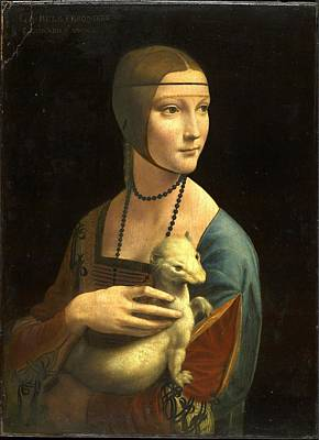 Painting - Lady With An Ermine by Leonardo Da Vinci