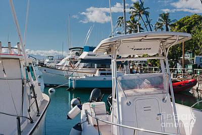Photograph - Lahaina Marina Maui Hawaii by Sharon Mau