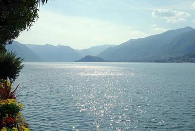 Lake Como Art Print by Valentino Visentini