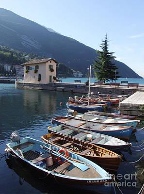 Photograph - Lake Garda At Torbole by Phil Banks