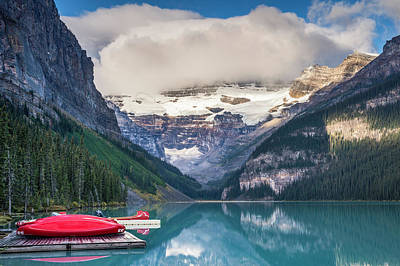 Photograph - Lake Louise, Banff National Park by Witold Skrypczak