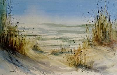 Painting - Lake Michigan by Sandra Strohschein