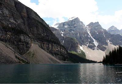 Photograph - Lake Moraine by Carolyn Ardolino