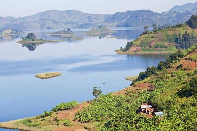 Uganda Photograph - Lake Mutanda Near Kisoro In Uganda by Martin Zwick