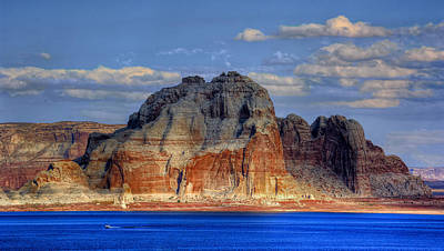 Photograph - Lake Powell by Stephen Campbell