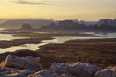 Photograph - Early Morning At Lake Powell   by Saija  Lehtonen