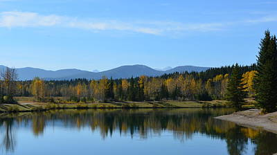 Photograph - Lake Reflections by Cheryl Miller