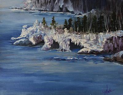 Lake Superior Ice Storm Original