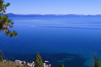Lake Tahoe #1 Art Print by J D Owen