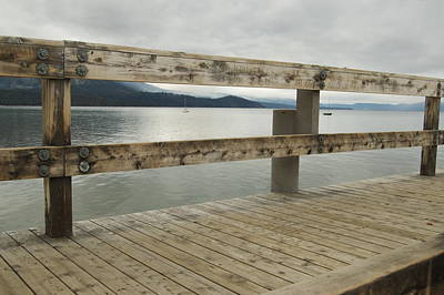 Photograph - Lake Tahoe Dock by Tamyra Crossley