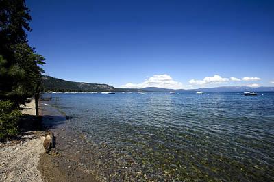Bob Clark Photograph - Lake Tahoe North Shore by Bob Clark