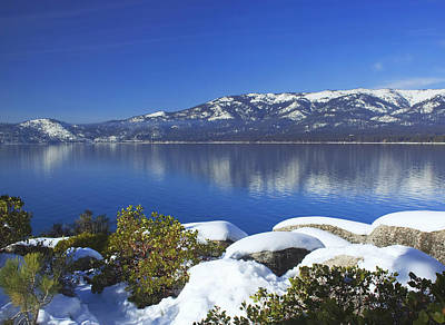 Photograph - Lake Tahoe Winter by Kim Hojnacki