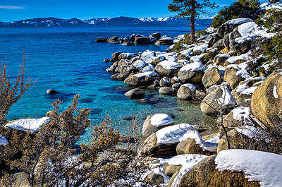 Photograph - Lake Tahoe Winterscape by Scott McGuire