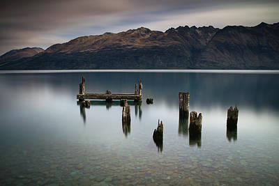 Photograph - Lake Wakatipu Memories by Brad Grove