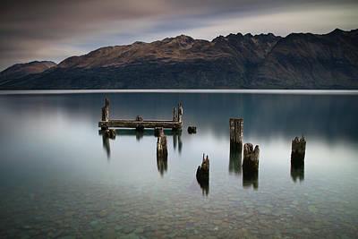Photograph - Lake Wakatipu Memories by Brad Grove