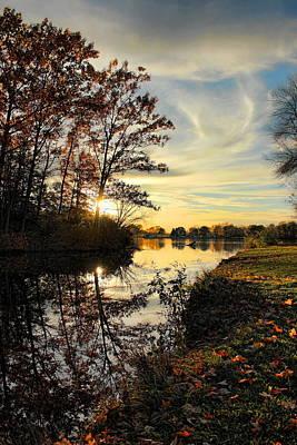 Photograph - Lake Wausau Sunset by Dale Kauzlaric